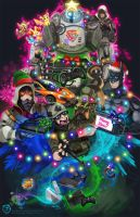 EB Games Christmas Card by mmishee