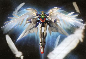 Gundam Wing: wing zero by shindo25