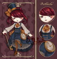 The Time Keeper ADOPTABLE AUCTION 72 H [CLOSED] by dolladopt