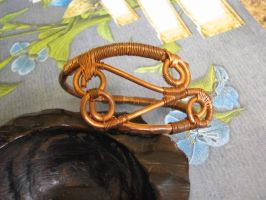 Wire Wrapped Copper Bracelet by bcainspirations