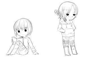 Armin and Annie by Unknown-Amelia