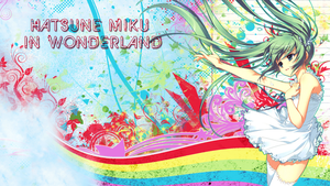 Miku in wonderland 1.0 by neikoka