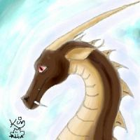 Brown Dragon by Scellanis