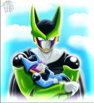 Cell And Jr by FANTASY-WORKS-JMBD