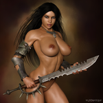 Sword Lady by paultheslayer