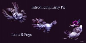 Larry Pie by chamirra