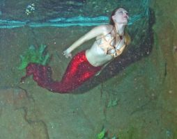 Mermaid Surfacing by FoxmoonMerfolk