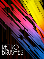 Retro Brush Set by Qbrushes