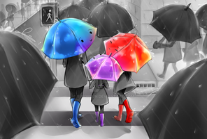 The Purple Umbrella Digital by SUP3Rbun