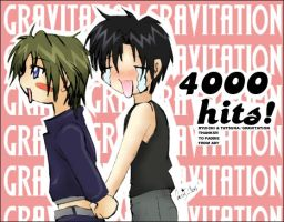 Gravitation: 4000 hits by prongsie