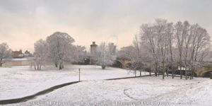 Nesbitt Park Snow Panorama 2 by MrParts