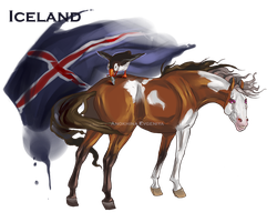 Horse Hetalia:  Iceland by Moon-illusion