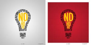 No Hope Typography by ManiaGraphic