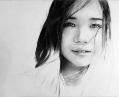 Elle - WIP 2 - 9th Drawing by manany