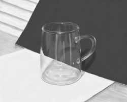 Still Life of Glass by Raria