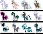 PONY AUCTION (CLOSED) #13 by SilverFeather-Adopts