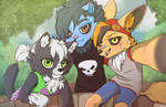 G. Old friends by Spark-Dragon