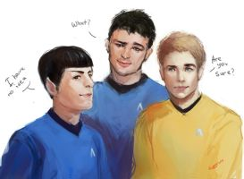 Star Trek. by GuppyBlue