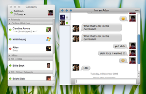 Preview : iChat for Adium by pritthish