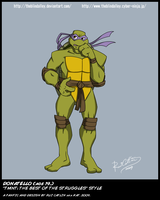 TMNT TBOTS Donatello 19 Color by theblindalley