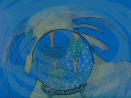 Crystal ball by Robyduck