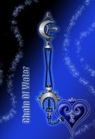 Keyblade - Chain Of Water - by WeapondesignerDawe