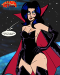 VillainsArtJam 2015 08 Dark Queen  by theEyZmaster