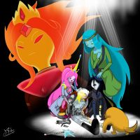 Adventure Time - A hero's fall... by Prelloyd