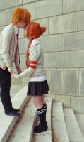 God bless stairs. by Phantom-Cosplay