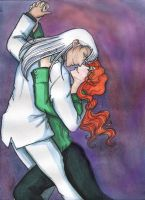 2 to tango_Kunzite and Zoisite by Shiniclaes
