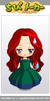 Merida Chibi by InvisibleDorkette