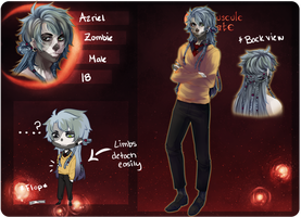 CE: Zombabe Azriel by DicedPears