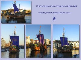 177 dawn treader set by Tigers-stock