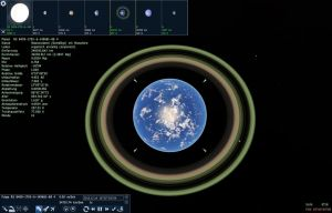 Space Engine Rock Planet With ring system by SchnuffelKuschel