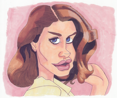 Lana Del Rey by IkeDaArtist