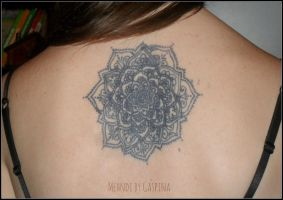 Lotus Mandala. back by Gaspina