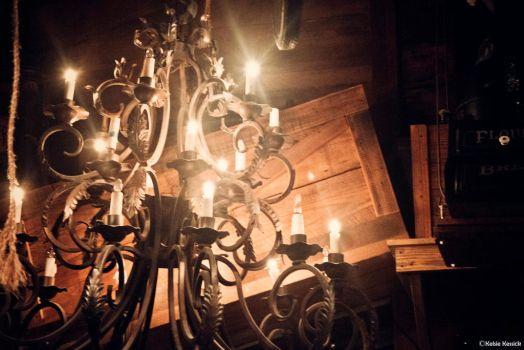 Chandelier of the Oldest Store by kmkessick