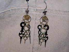 Hands of Fate Earrings by crystalclover