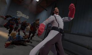 Medic is Left 4 Dead by JackAxeWell