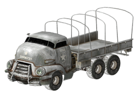Pre-War Army Truck by ThePandoraComplex141