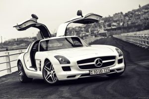 Mercedes SLS 63 AMG_1 by Tagirov