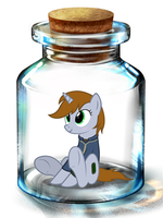 Bottled Up: LittlePip by Songbreeze741