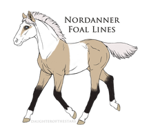 7223 Desert Orchid Foal Design RECREATION by MossyOakStables