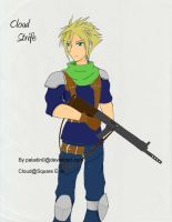A Shinra Guard Cloud Strife by Paladin0