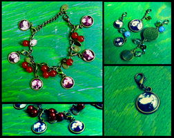 Custom charms / necklaces / bracelets with photos by ms-villeroy