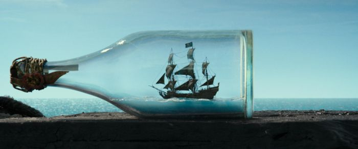 The Black Pearl in a Bottle by TheNoblePirate