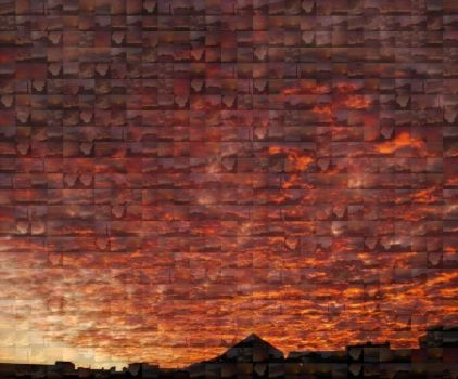 Sunsets Mosaic by ErinM2000