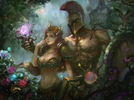 Pantheon And Leona by 187002725