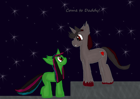 Contest entry:  Come to Daddy butterfly! by WoefulWriters