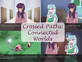 Crossed Paths:Connected Worlds [Full VN] by MikomiKisomi